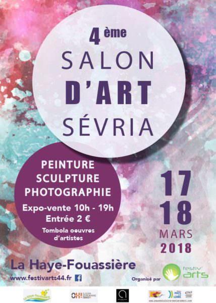 Affiche salon SEVRIA 2018