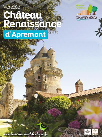 Apremont château renaissance (exposition Tassou Août 2018)