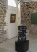 Exhibition and opening at Oudon (France).