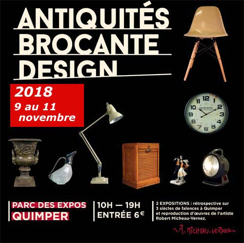"Loading Poster ""Antiquité Brocante Design"""