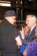 Rémy Tassou avec le premier ministre Jean Marc Ayrault
