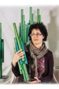 Anne Puichaud avec les «Trophées du tri SIVADES»
