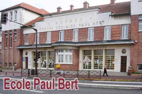 Ville d'Antony : école Paul Bert