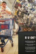 «RUOK» à l'exposition du Leclerc de Grasse (janvier 2010)