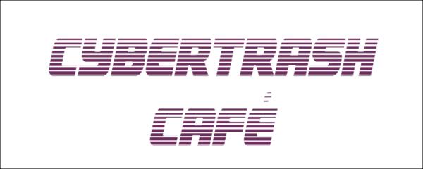 "Logo ""Cybertrash Café"" (2 lignes)"