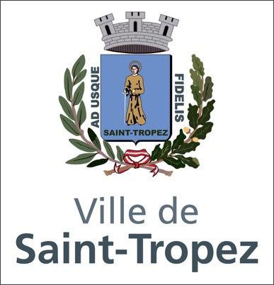"""logo """"Ville de Saint-Tropez"""""""