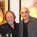 A Saint Paul avec le peintre brésilien Juarez Machado