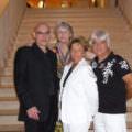 Tassou avec les artistes et la galeriste Pauline Seiller