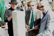 Avec M. Casoli directeur du Sivades et André Laurent directeur général des services du Pole Azur Provence