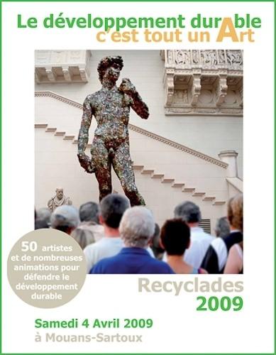 Affiche Recyclades 2009 de Mouans Sartroux