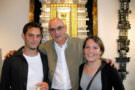 Tassou avec son fils Kevin et sa fille Mélody