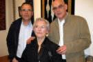 Avec sa mère et son frère Jean-Jacques
