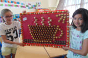 Réalisation d'élèves à base de capsules de café