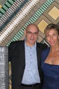 Tassou avec Valérie Penven, son attaché de presse.