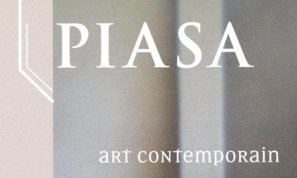 """Logo Piasa """"Art contemporain"""""""