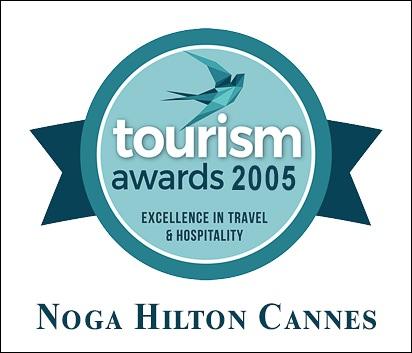 Montage logos Noga Hôtel et Tourism@awards