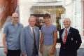 Tassou avec Jean Pierre Leleux, Alexandre Durand et Alain Bideaux.