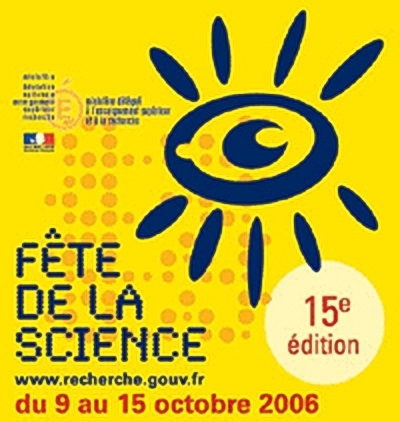 Logo Fête de la science 2006