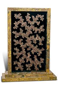 """Œuvre d'art du sculpteur Rémy tassou nommée """"Picasa"""" (690). Recto. (vue principale)"""