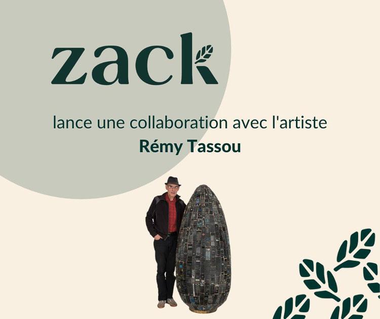 Tassou & Zack partnership announcement (Linkedin)